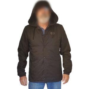 Vans Off-The-Wall Black lite-Quilt Hoodie Jacket